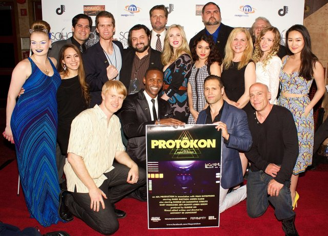 The Protokon Cast and Crew on the red carpet in NYC!